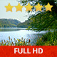 Windy Lake in a Gentle Breeze - VideoHive Item for Sale