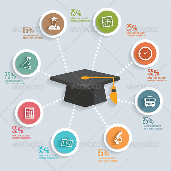GraphicRiver Education Infographics 8658943