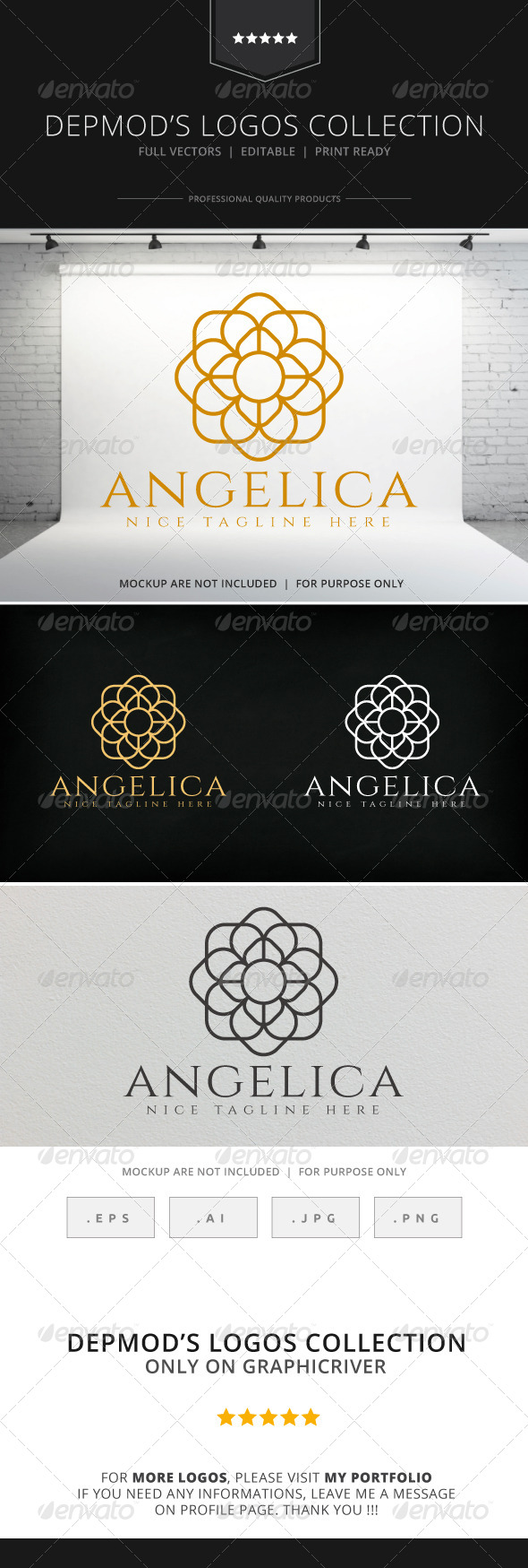 GraphicRiver Angelica Logo 8722682