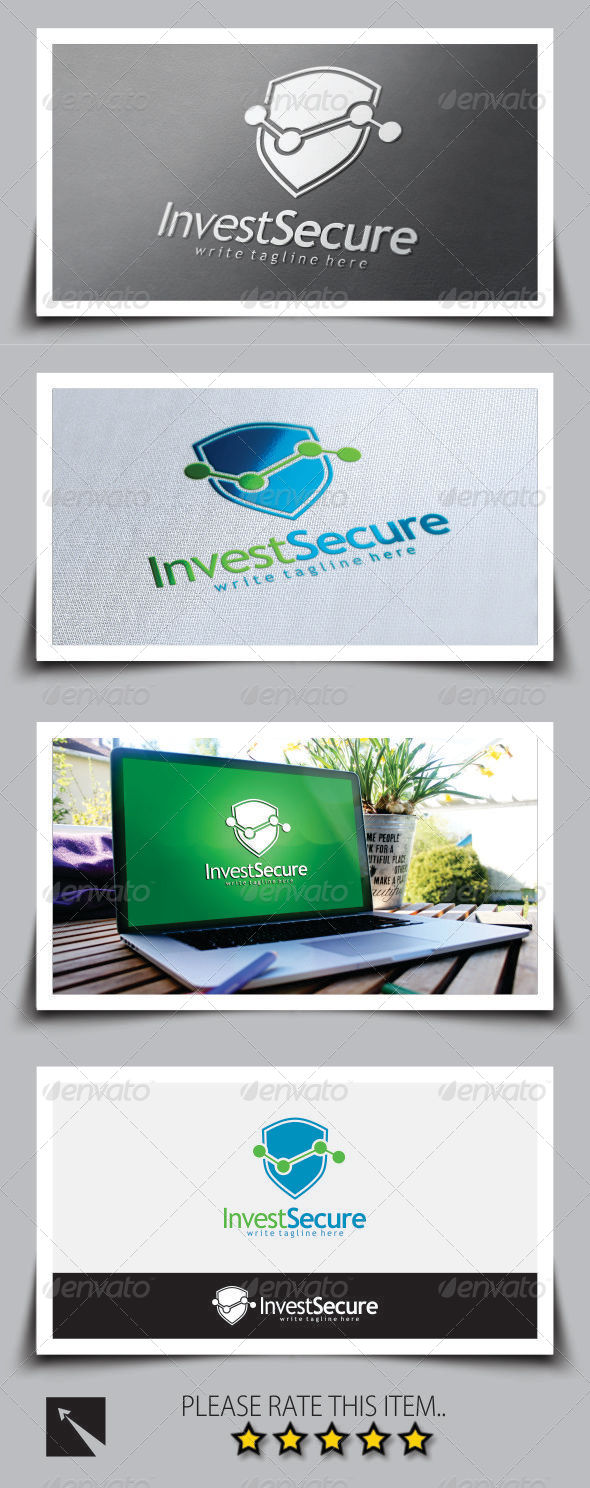 GraphicRiver Secure Invest Logo Template 8722699
