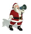 Santa With a Megaphone - PhotoDune Item for Sale