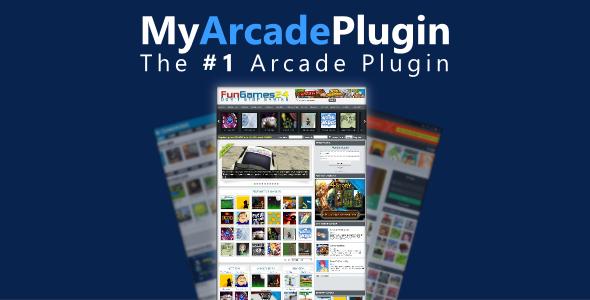 CodeCanyon MyArcadePlugin Starter WordPress Arcade Plugin 8723057
