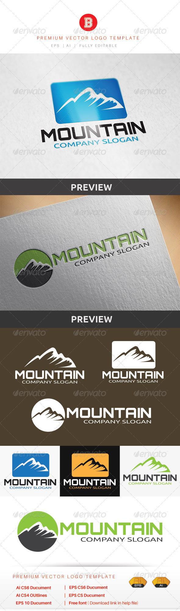 GraphicRiver Mountain 8723061