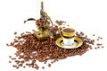 Turkish Coffee With Grinder and Beans - PhotoDune Item for Sale