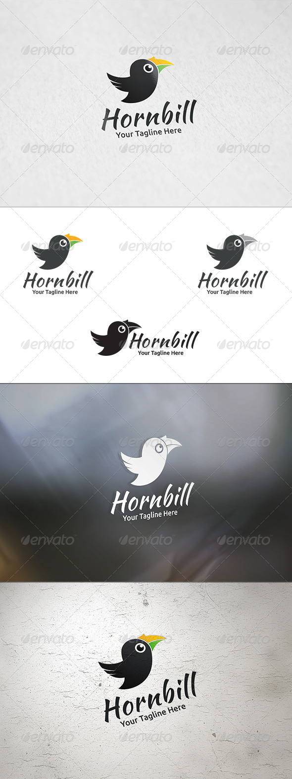 GraphicRiver Hornbill Logo Template 8723946