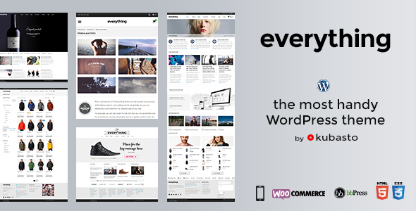 ThemeForest Everything Responsive WordPress Theme 8661152