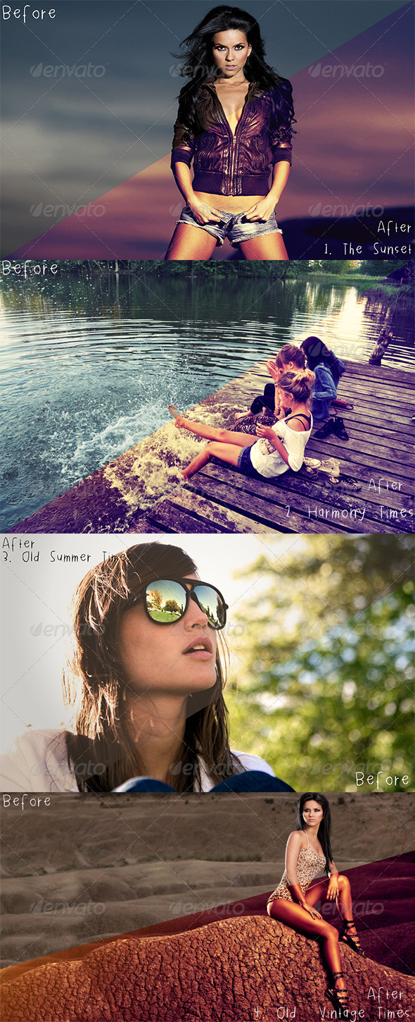 GraphicRiver 4 Classic Actions 8724091
