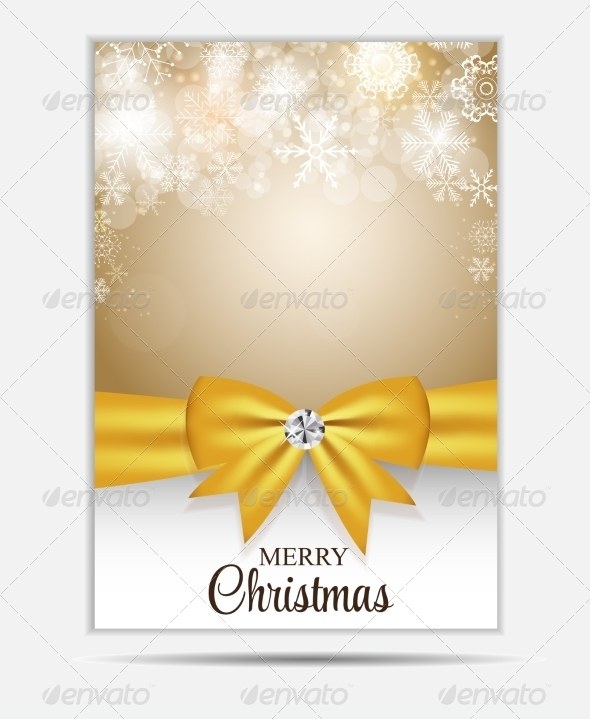 GraphicRiver Christmas Snowflakes Website Banner 8724109