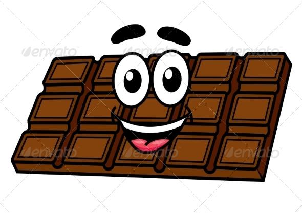 GraphicRiver Cartoon Chocolate 8724226