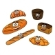 Cartoon Bread Bakeries - GraphicRiver Item for Sale