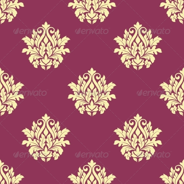 GraphicRiver Damask Pattern 8724569
