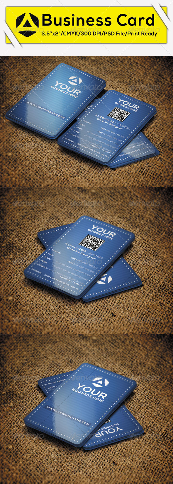 GraphicRiver Creative Corporate Business Card 4 8724624