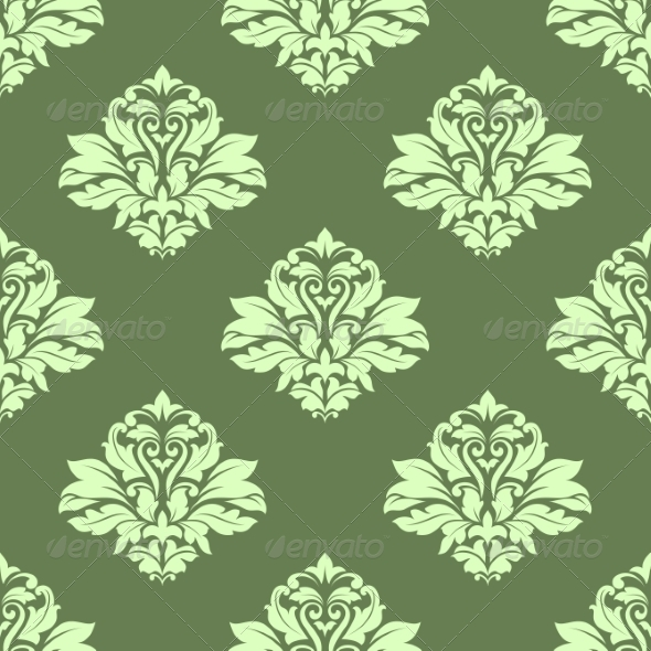 GraphicRiver Floral Seamless Pattern 8724639
