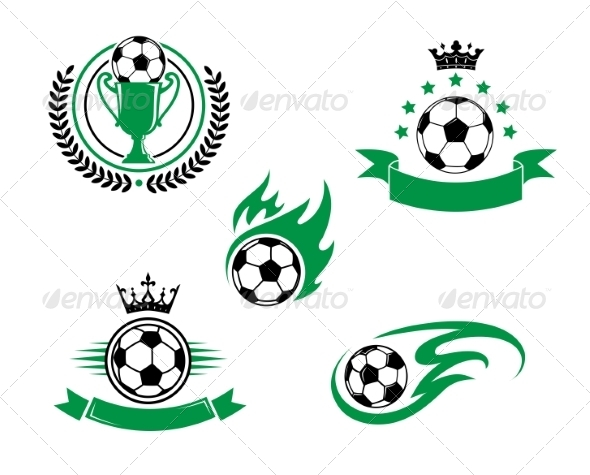 GraphicRiver Football and Soccer Design Elements 8724643