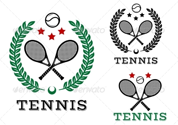 GraphicRiver Tennis Emblem 8724671