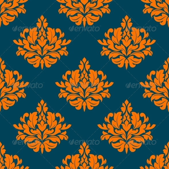 GraphicRiver Floral Seamless Pattern 8724694
