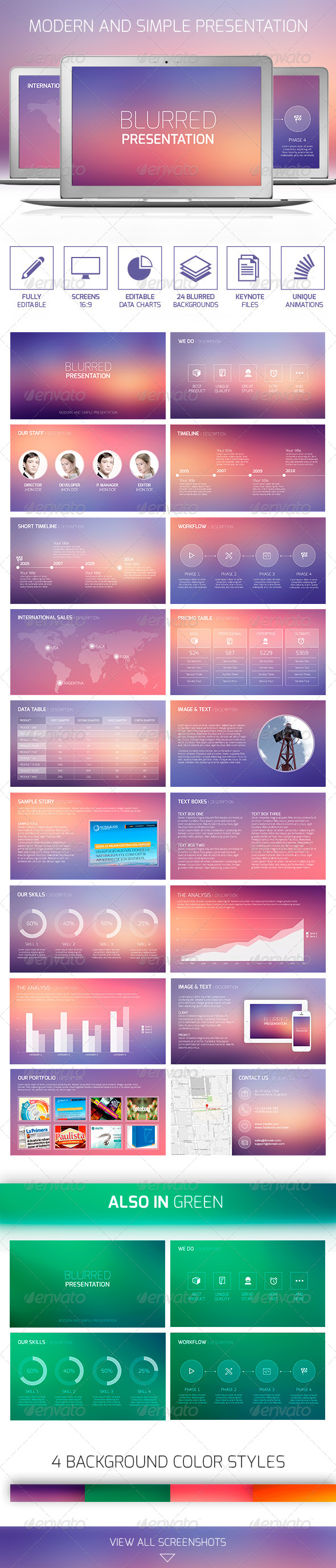 GraphicRiver Blurred Presentation 8646304