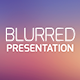 Blurred Presentation - GraphicRiver Item for Sale