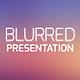 Blurred Presentation - GraphicRiver Item for Sale