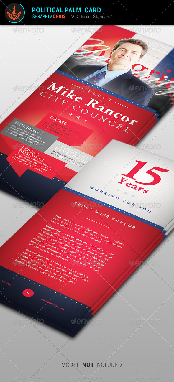 GraphicRiver Political Palm Card Template 2 8724771