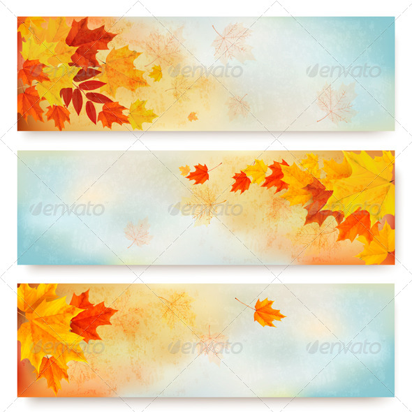 GraphicRiver Autumn Banners 8724802
