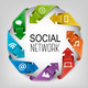 Business Social Network Concept - GraphicRiver Item for Sale