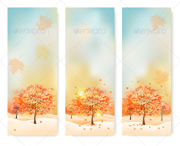 GraphicRiver Autumn Banners 8724842
