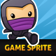 Endless Runner Game Sprite - Ninja