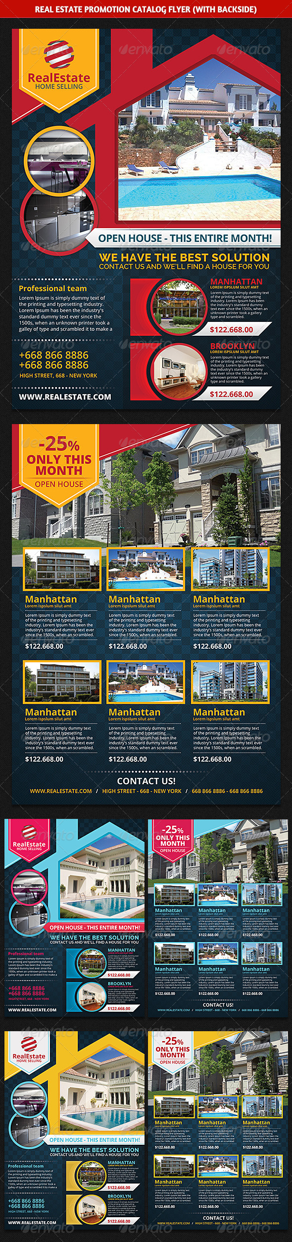 Real Estate Promotion Catalog Flyer
