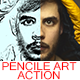 Pencile art Action - GraphicRiver Item for Sale