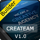 CreaTeam - Responsive Email Template With Builder