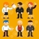 Different Vector Businessmen Characters - GraphicRiver Item for Sale