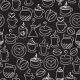 Coffee Seamless Background Vector Pattern - GraphicRiver Item for Sale