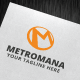 Metromana Logo Template - GraphicRiver Item for Sale