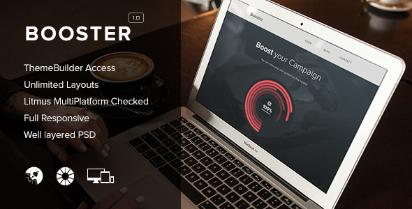 ThemeForest Booster Responsive Email & Themebuilder Access 8664740