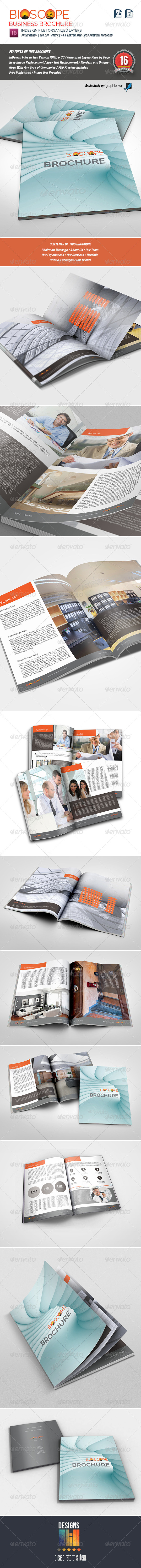 GraphicRiver Bioscope Multipurpose Brochure 8726404