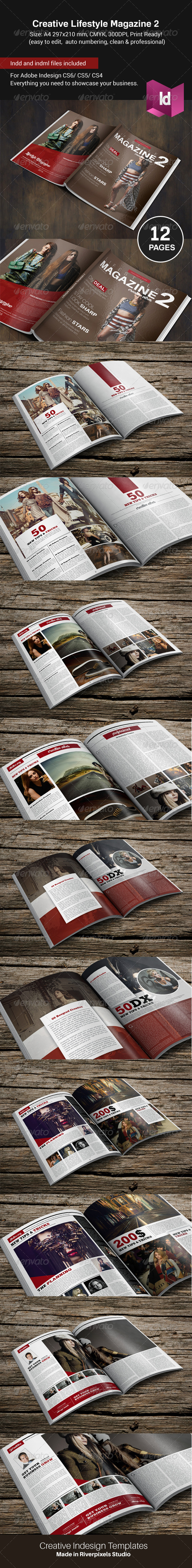 GraphicRiver Creative Lifestyle Magazine II 8726736