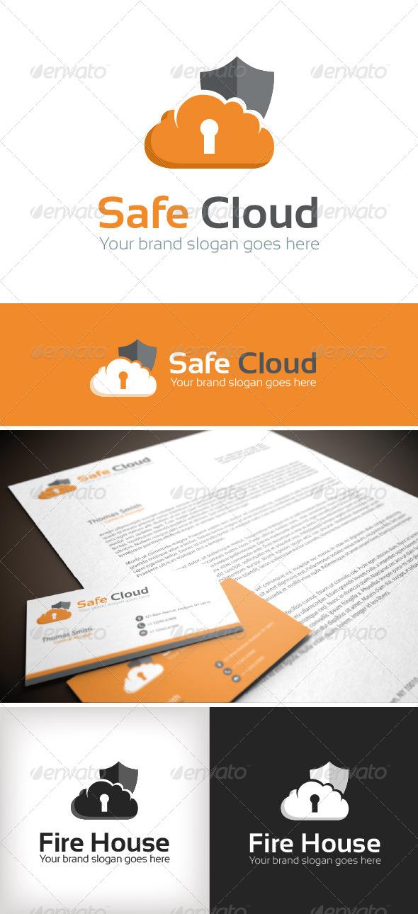 GraphicRiver Safe Cloud Logo Template 8726812
