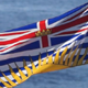 British Columbia Flag On Water - VideoHive Item for Sale