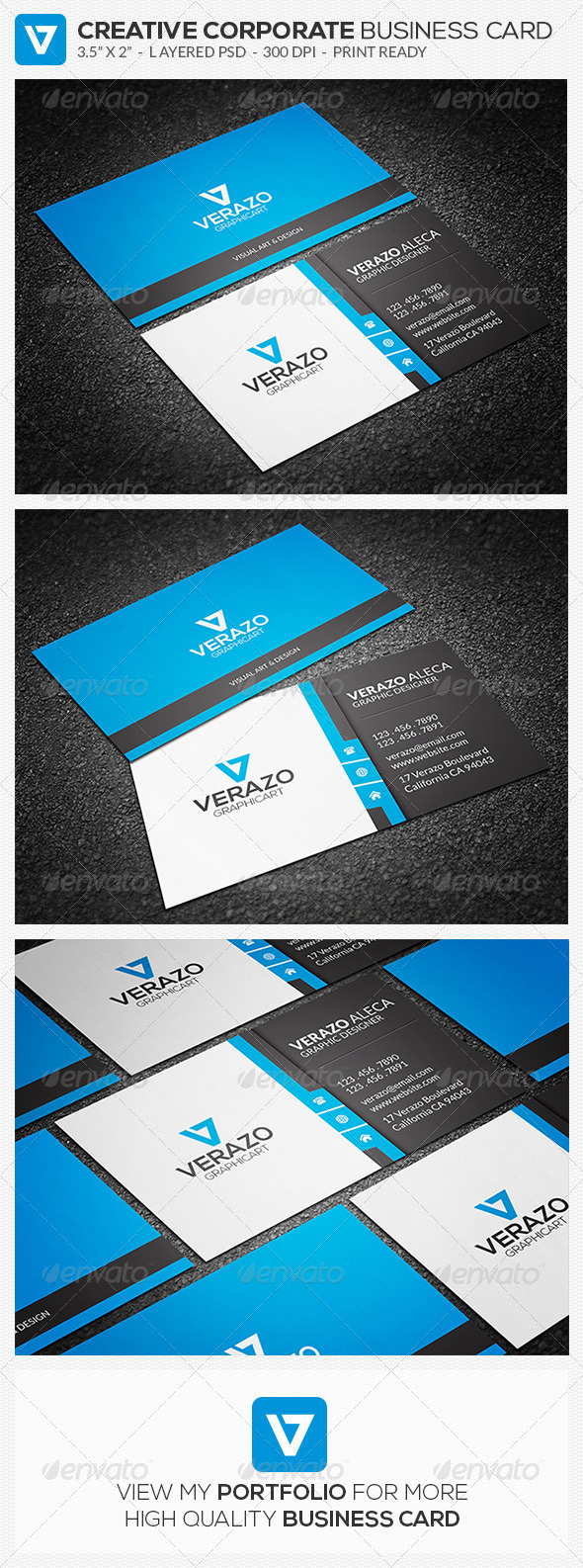 GraphicRiver Creative Corporate Business Card 57 8727467