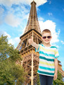 smiling cute little boy in sunglasses - PhotoDune Item for Sale