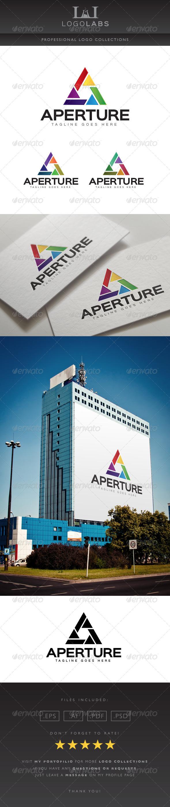 GraphicRiver Aperture Logo 8727910