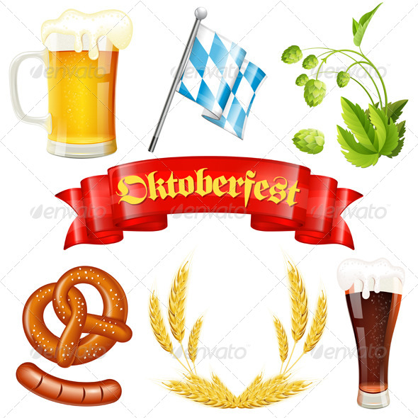 GraphicRiver Oktoberfest Icons 8728127