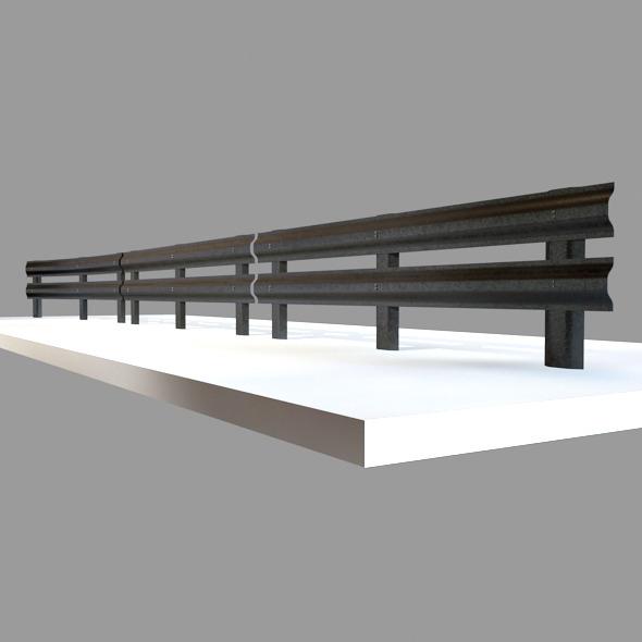 3DOcean Barriers Street Prop 8728136