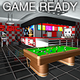 Game Ready Retro Bar - Pool Room