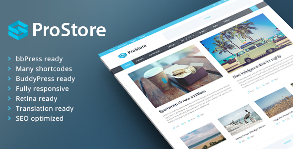 ProStore - Modern Magazine Theme - Blog / Magazine WordPress