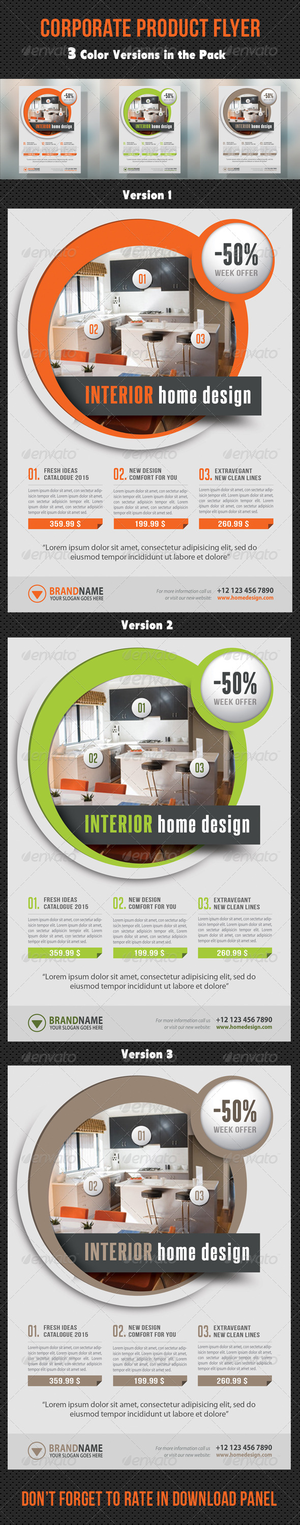 GraphicRiver Corporate Product Flyer 98 8729110