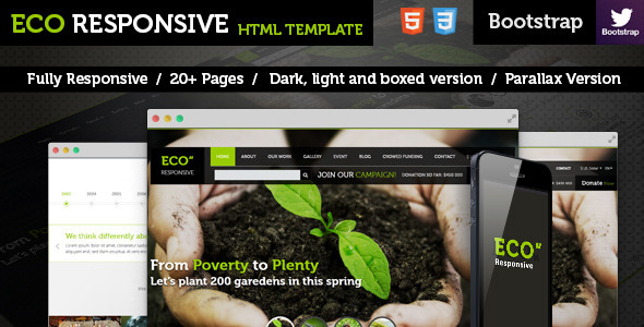 ECO Responsive Environment Template - Environmental Nonprofit