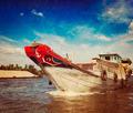Boat. Mekong river delta, Vietnam - PhotoDune Item for Sale