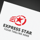 Express Star Logo - GraphicRiver Item for Sale